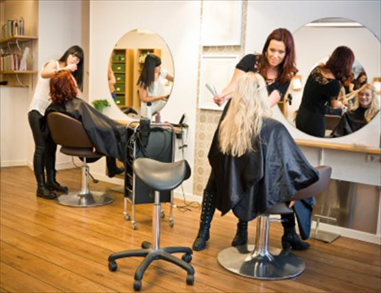 Las Vegas Hair Salon - 6 Booths and 2 private rooms